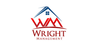 Logoinn created this logo for Wright Management & Real Estate Services, Inc. - who are in the Real Estate Logo Design  Sectors