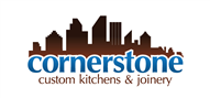 Logoinn created this logo for cornerstone custom kitchens & joinery - who are in the Entertainment Logo Design  Sectors