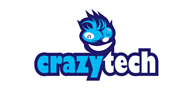 Logoinn created this logo for crazytech - who are in the Games Logo Design  Sectors