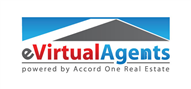 Logoinn created this logo for eVirtualAgents - who are in the Real Estate Logo Design  Sectors