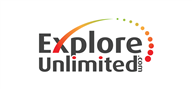 Logoinn created this logo for explore unlimited.com - who are in the Tourism Logo  Sectors