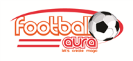 Logoinn created this logo for footballaura - who are in the Sports Logo Design  Sectors