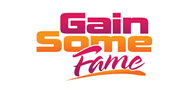 Logoinn created this logo for gainsomefame.com - who are in the Entertainment Logo Design  Sectors