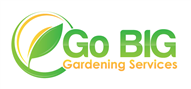 Logoinn created this logo for go big gardening services - who are in the Landscape Logo Design  Sectors