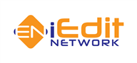 Logoinn created this logo for iEdit Network - who are in the Services Logo Design  Sectors