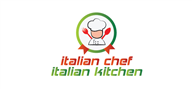 Logoinn created this logo for italian chef - who are in the Cafes Logo Design  Sectors