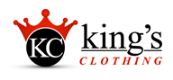 Logoinn created this logo for kings clothing  - who are in the Apparel Logo Design  Sectors