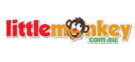 Logoinn created this logo for littlemonkey.com.au - who are in the Toys Logo Design  Sectors