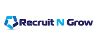 Logoinn created this logo for recruit n grow - who are in the Finance Logo Design  Sectors
