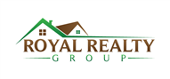 Logoinn created this logo for royal realty group - who are in the Real Estate Logo Design  Sectors