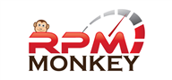 Logoinn created this logo for rpmmonkey.com - who are in the Automotive Logo Design  Sectors