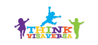 Logoinn created this logo for thinkvisaversa - who are in the Kids Logo  Sectors