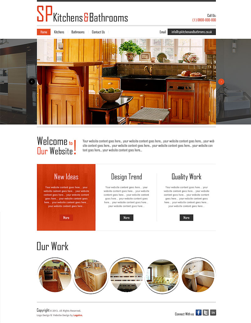 This Website Is Designed By Logoinn For U0027SP Kitchen U0026 Bathroomsu0027 In January  ,